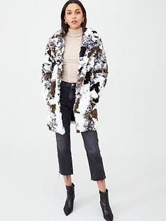 v-by-very-cow-print-faux-fur-coat-khaki