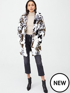 v-by-very-cow-print-faux-fur-coat-khaki