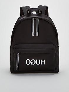 hugo-record-backpack-black