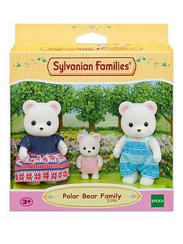 sylvanian-families-polar-bear-family