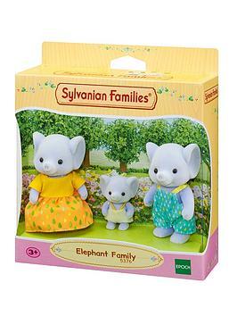 sylvanian-families-elephant-family