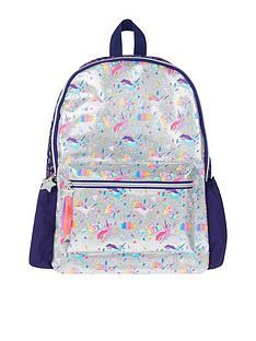 accessorize-girls-super-hero-unicorn-print-glitter-backpack-silver