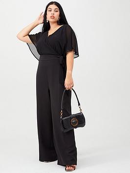 v-by-very-curve-wrap-crepe-jumpsuit-black