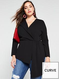 v-by-very-curve-asymmetric-long-sleeve-top-black