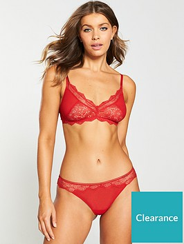 calvin-klein-unlined-bralettenbsp--red