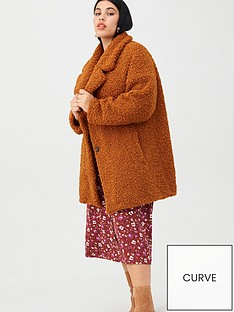 v-by-very-curve-teddy-faux-fur-coat-rust