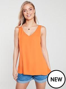wallis-v-neck-cami-top-orange