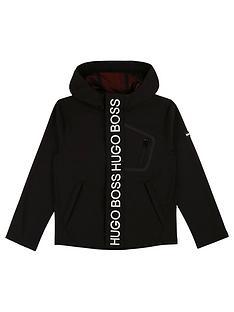 boss-boys-fleece-lined-hooded-jacket-black