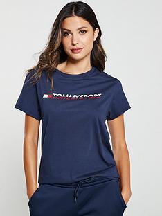 tommy-hilfiger-tee-logo-coea-navy