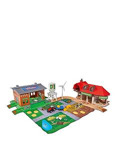 majorette-creatrix-big-farm-playset-and-5-cars