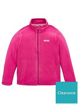 regatta-girls-king-ii-full-zip-fleece-pink