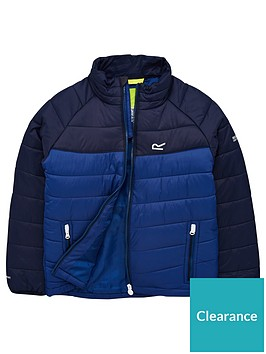regatta-junior-freezeway-padded-jacket-blue