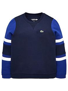 lacoste-sports-boys-colour-block-crew-sweat-navy