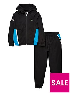 lacoste-sports-boys-colour-block-tracksuit-black