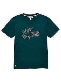 lacoste-boys-short-sleeve-big-croc-t-shirt-green