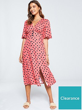 v-by-very-button-kimono-dress-spot