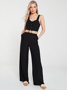 v-by-very-belted-straight-leg-jumpsuit-black