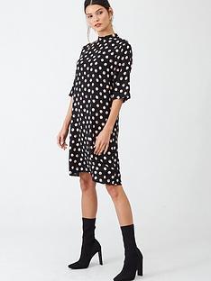 v-by-very-high-neck-tunic-dress-spot