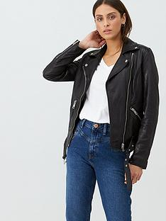 v-by-very-textured-leather-biker-black