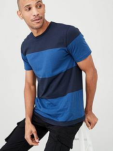 v-by-very-block-stripe-t-shirt-blue