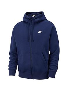 nike-sportswear-plus-size-club-fleece-full-zip-hoodie-navy
