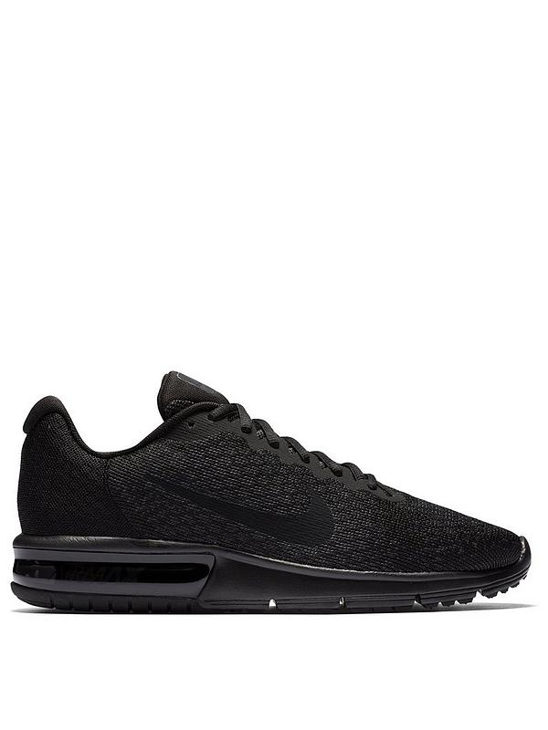 nike air max sequent 2 black