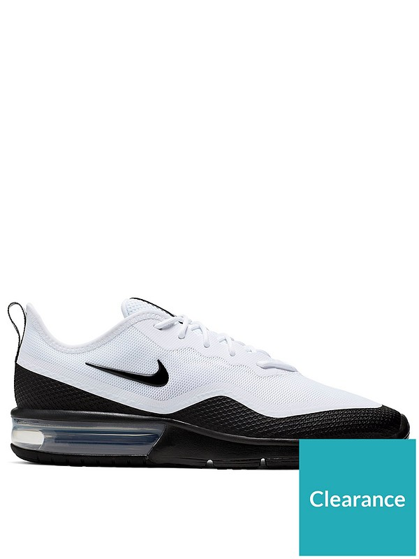 limited guantity on feet shots of huge sale Nike Air Max Sequent 4.5 - White/Black | littlewoodsireland.ie