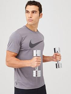 nike-superset-hbr-training-t-shirt-grey