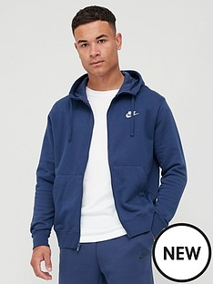 nike-sportswear-club-fleece-full-zip-hoodienbsp--navy