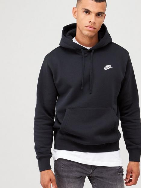 nike-sportswear-club-fleece-overhead-hoodienbsp--black