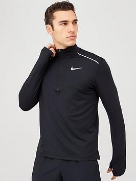 nike-12-zip-running-top-black