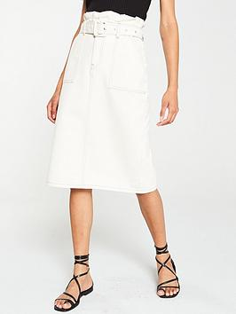 v-by-very-paperbag-waist-midi-skirt-ecru