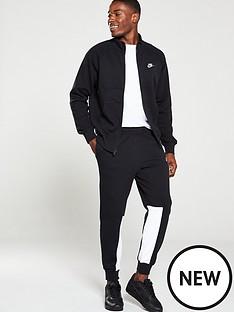nike-sportswear-fleece-tracksuit-black