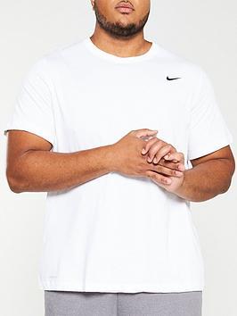 nike-plus-size-solid-crew-neck-t-shirt-white