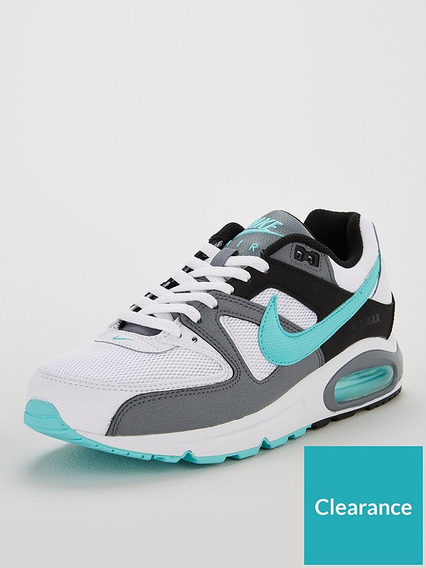 nyanser av bäst detaljhandelspriser Nike Air Max Command - White/Blue | littlewoodsireland.ie