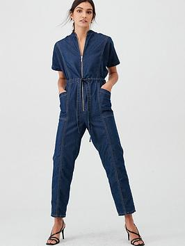 v-by-very-denim-utility-jumpsuit-dark-wash