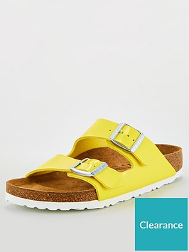 birkenstock-arizona-patent-flat-sandals-yellow