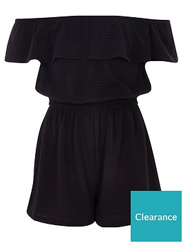 river-island-girls-black-frill-bardot-playsuit