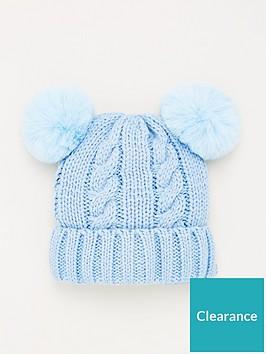 v-by-very-double-pom-pom-baby-hat-baby-blue