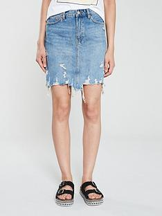 v-by-very-ripped-denim-mini-skirt-blue