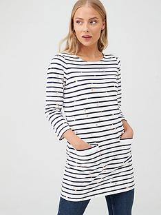 joules-quinn-three-quarter-sleeve-jersey-tunic-navycream