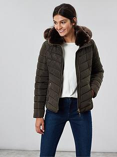 joules-gosway-padded-luxe-faux-fur-jacket-green