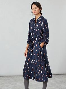joules-briony-button-front-shirt-dress-navy