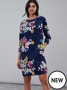 joules-daisy-boat-neck-woven-dress