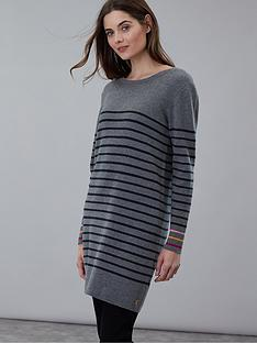 joules-knitted-long-sleeve-tunic-grey-marl