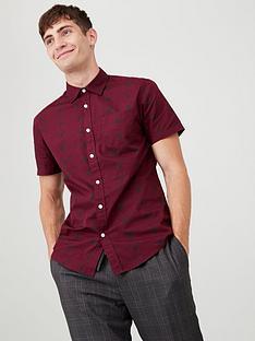 v-by-very-motif-print-party-shirt-burgundy