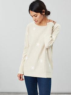 joules-star-print-round-neck-jumper
