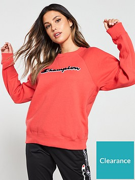 champion-crewneck-sweatshirt-rednbsp