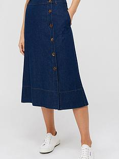 monsoon-maya-midi-denim-skirt-blue