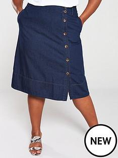 monsoon-curve-maya-midi-denim-skirt